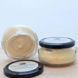 Hemp Shave Soap ~ 6.5oz Jar